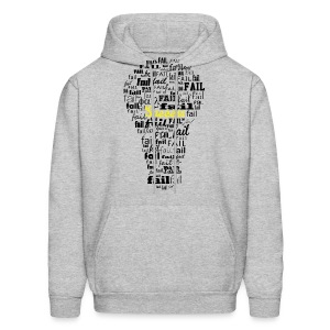 Failure leads to success - Men's Hoodie