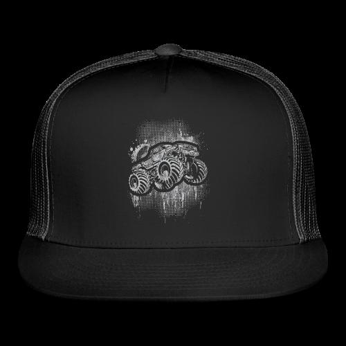 Monster Truck Grungy - Trucker Cap