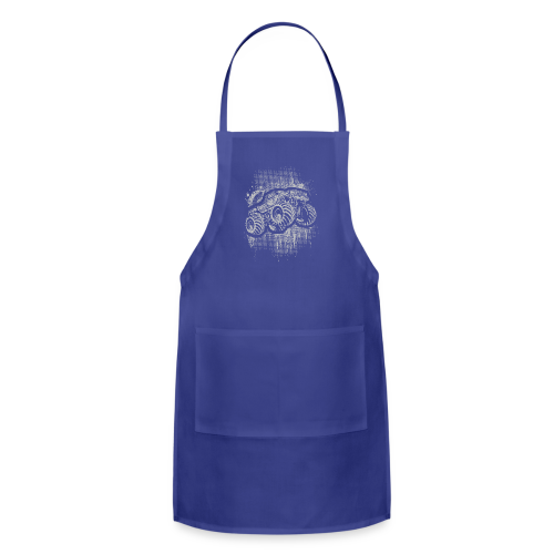 Monster Truck Grungy - Adjustable Apron