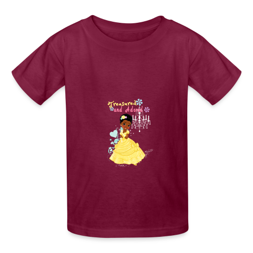 Treasured and Adored - Kids' T-Shirt