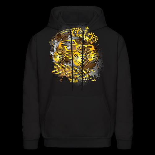 Golden Monster Truck Shirt - Men's Hoodie