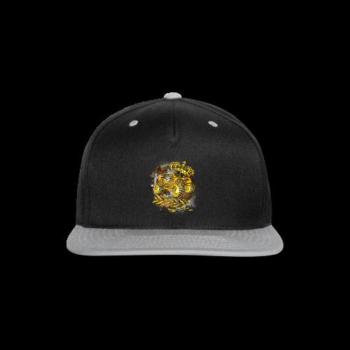 Golden Monster Truck Shirt - Snap-back Baseball Cap