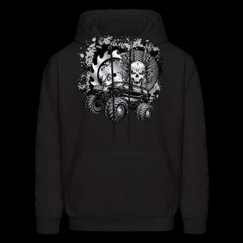 Matallic Monster Truck Shirt - Men's Hoodie