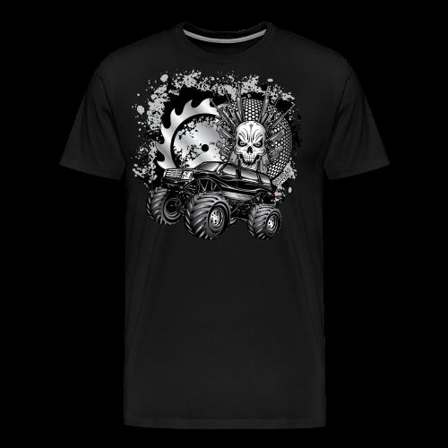 Matallic Monster Truck Shirt - Men's Premium T-Shirt