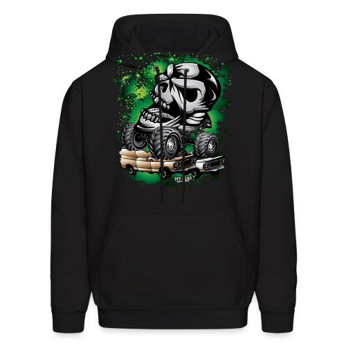Monster Skull Truck - Men's Hoodie