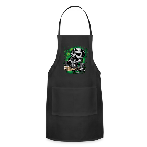 Monster Skull Truck - Adjustable Apron
