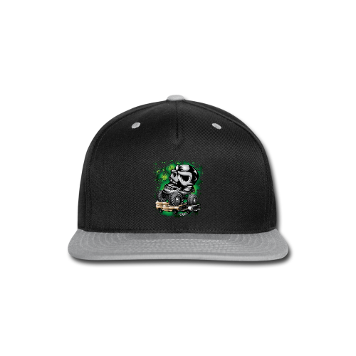 Monster Skull Truck - Snap-back Baseball Cap