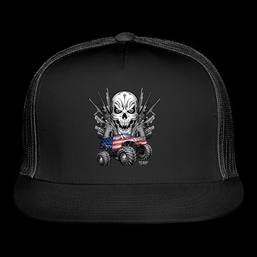 Monster Truck Shirt USA - Trucker Cap
