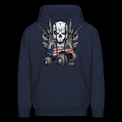 Monster Truck Shirt USA - Men's Hoodie