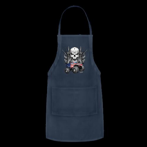 Monster Truck Shirt USA - Adjustable Apron