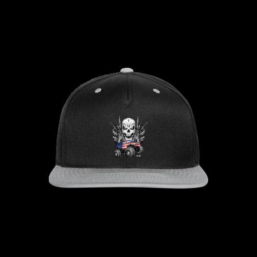 Monster Truck Shirt USA - Snap-back Baseball Cap