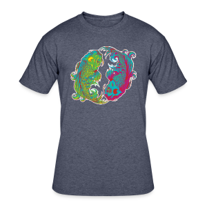 Yin Yang Koi - Men's 50/50 T-Shirt