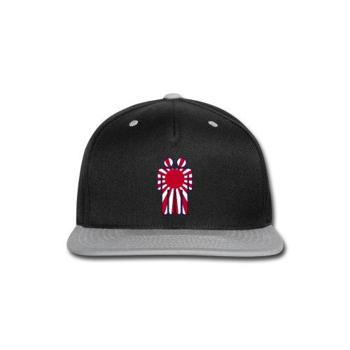 Blunt Headed The Man In The High Castle Japanese Flag - Snap-back Baseball Cap
