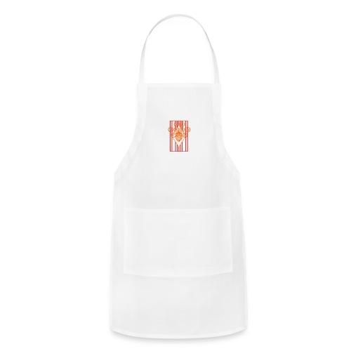 Water Bottle Flag18 - Adjustable Apron