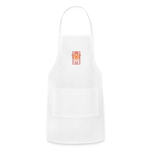 Water Bottle Flag18 - Adjustable Apron