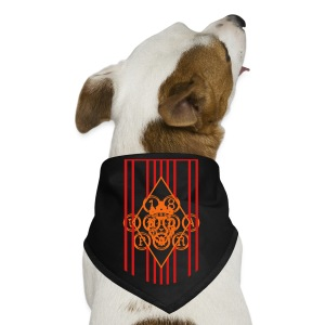 Water Bottle Flag18 - Dog Bandana