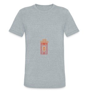 Water Bottle Flag18 - Unisex Tri-Blend T-Shirt by American Apparel