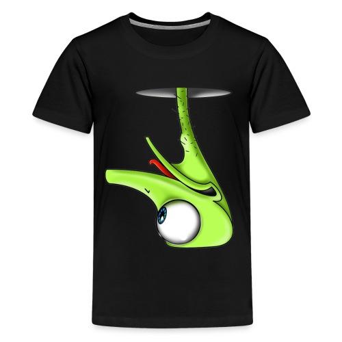Funny Green Ostrich T-shirt - Kids' Premium T-Shirt