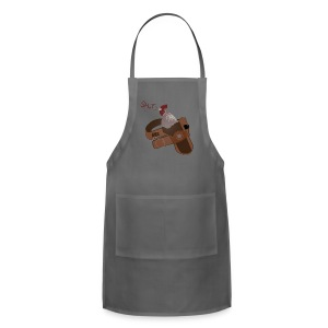 High Quality Shut Your Cock Holster American Apparel Tee - Adjustable Apron