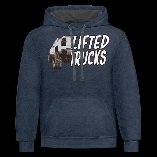 Lifted Trucks - Contrast Hoodie