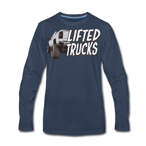 Lifted Trucks - Men's Premium Long Sleeve T-Shirt