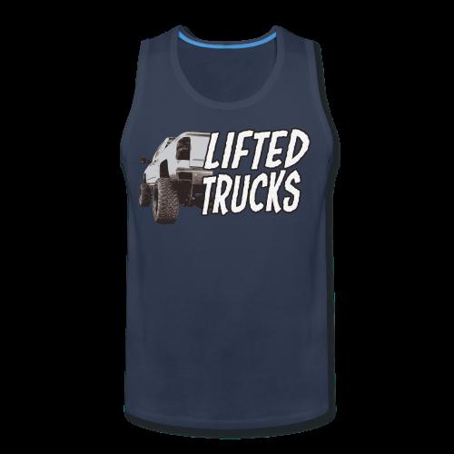 Lifted Trucks - Men's Premium Tank