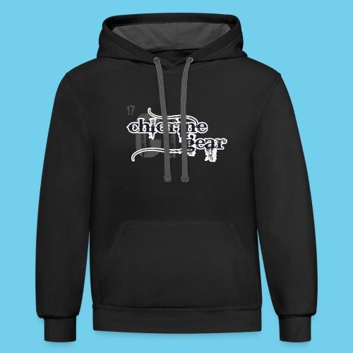 Follow me Swim Mom- Sweatshirt - Contrast Hoodie