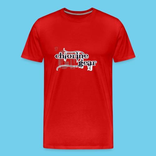 Follow me Swim Mom- Sweatshirt - Men's Premium T-Shirt