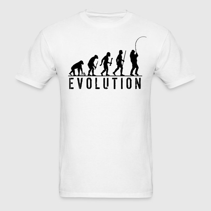 Evolution Fishing T Shirt - Men's T-Shirt