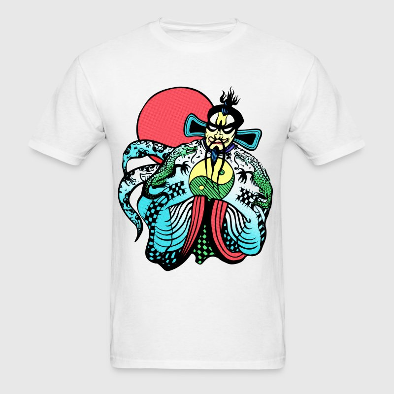 Big Trouble Little China Jack Burton's Fu Manchu T-Shirts - Men's T-Shirt