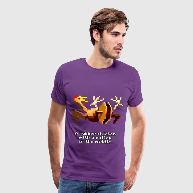 Monkey Island - Rubber Chicken - Men's Premium T-Shirt