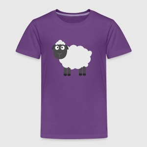 Cute Sheep Kids' Shirts - Toddler Premium T-Shirt