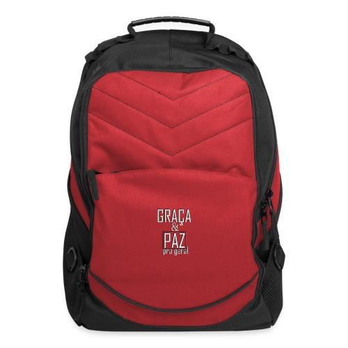 Caneca personalizada GRAÇA E PAZ PRA GERAL - Computer Backpack