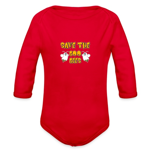 Save the Bees  - Organic Long Sleeve Baby Bodysuit