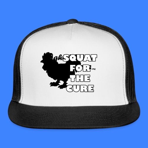 Squat For The Cure (male) - Trucker Cap