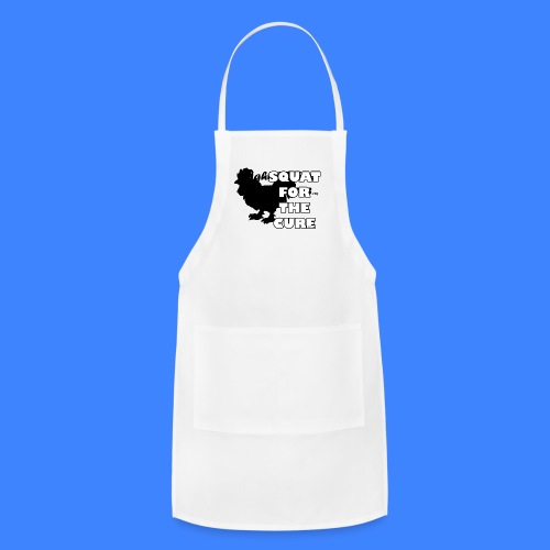 Squat For The Cure (male) - Adjustable Apron
