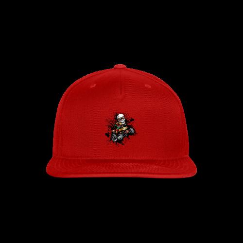 ATV Skully Splatter Sml - Snap-back Baseball Cap