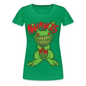 Evil Bunny Womens Tee - Women's Premium T-Shirt