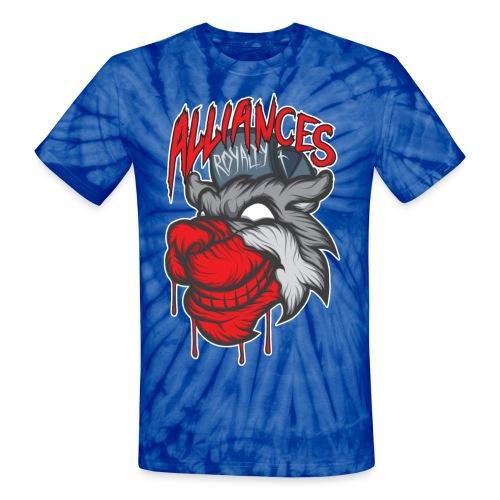 Bloody Mess Womens Tee - Unisex Tie Dye T-Shirt