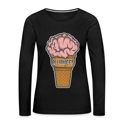 Braincream Womens Tee - Women's Premium Long Sleeve T-Shirt