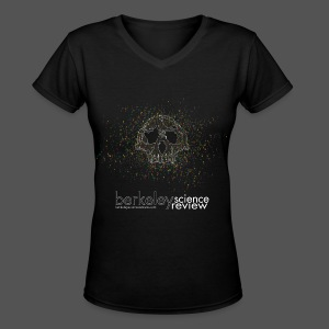 Caves, bones, and genomes - Women's V-Neck T-Shirt