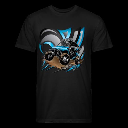 UTV SxS RzR Deco Yamaha Shirt - Fitted Cotton/Poly T-Shirt by Next Level