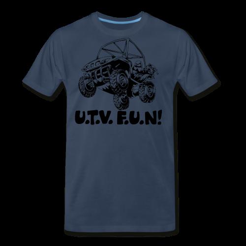 UTV fun jump - Men's Premium T-Shirt