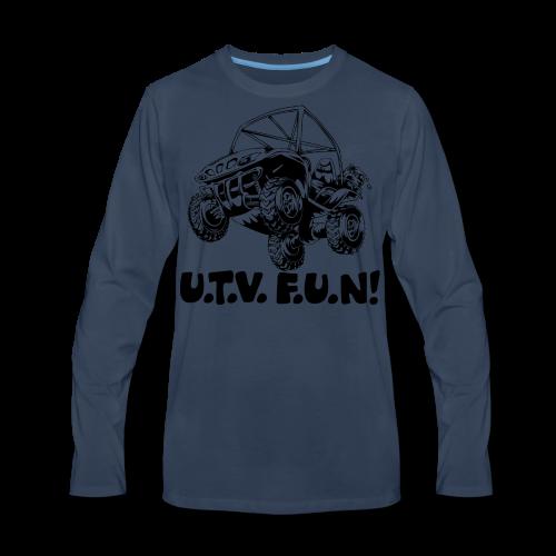 UTV fun jump - Men's Premium Long Sleeve T-Shirt