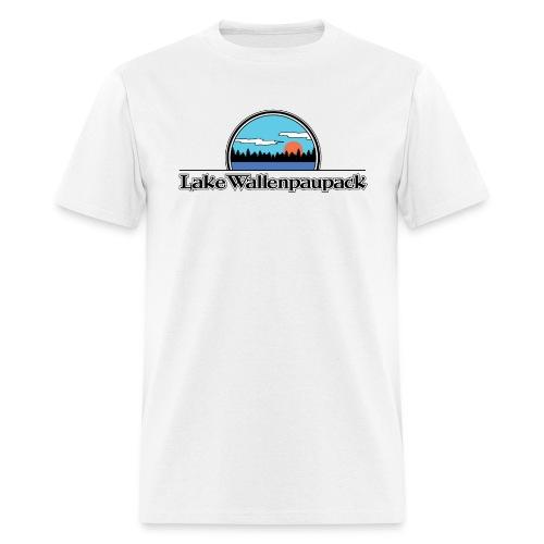 Lake Wallenpaupack Retro Summer Camp Shirt - Men's T-Shirt