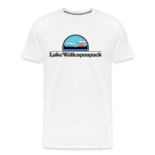 Lake Wallenpaupack Retro Summer Camp Shirt - Men's Premium T-Shirt