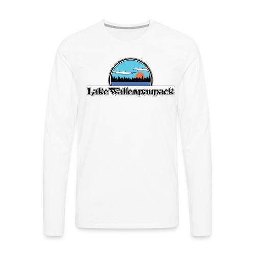 Lake Wallenpaupack Retro Summer Camp Shirt - Men's Premium Long Sleeve T-Shirt
