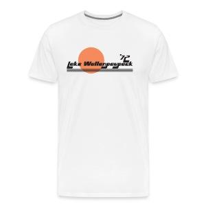 Lake Wallenpaupack Retro Ringer Tee - Men's Premium T-Shirt