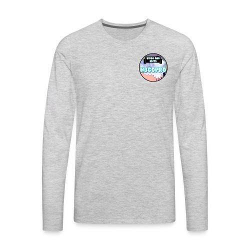 HBGoPro Crewneck Longsleeve T-Shirt - Men's Premium Long Sleeve T-Shirt