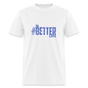 #ImBetterLive Men's Baseball Tee - Men's T-Shirt